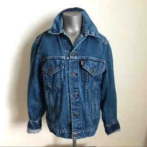 Rare Vintage Levi's Jacket Leather Tab